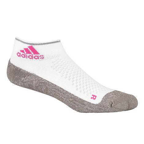 adidas - White running ankle socks