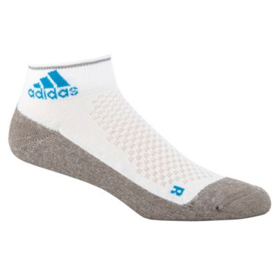 Adidas Grey running ankle socks