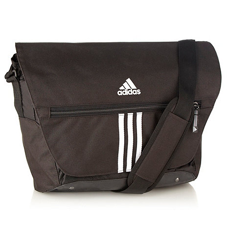 adidas - Black essential messenger bag