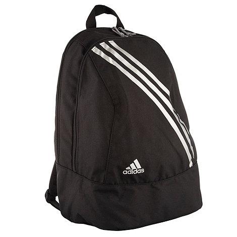 adidas - Black diagonal stripe backpack