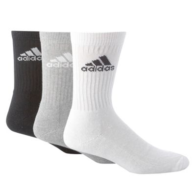 Pack Of Three Sports Socks