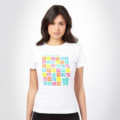 White London 2012 picture t-shirt