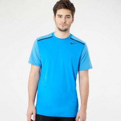 Nike Blue vapour fitness top