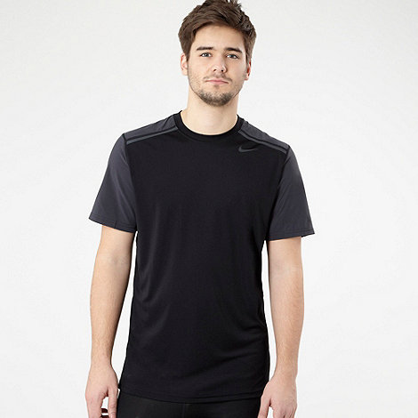 Nike - Black +Vapour+ short sleeve top