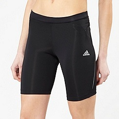 adidas - Black tight training shorts
