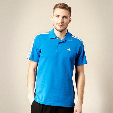 adidas - Blue essential polo shirt