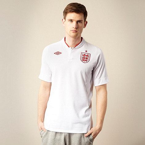 Umbro - White +England Home+ football shirt