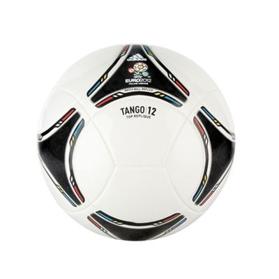 White Small Euro 2012 Football