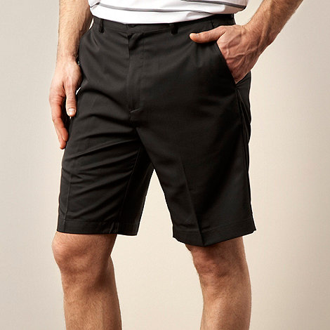 adidas Golf - Black flat tech shorts