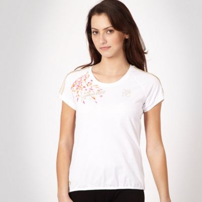 White bubble hemmed London 2012 t-shirt