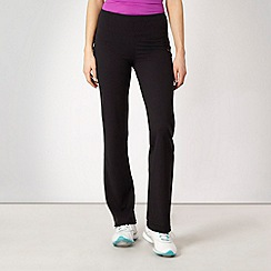 Reebok - Black shape wear fitness trousers