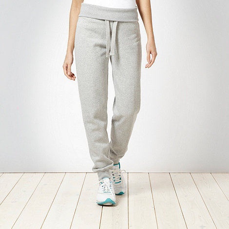 XPG by Jenni Falconer - Grey brushed jersey jogging bottoms