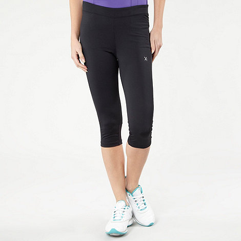 XPG by Jenni Falconer - Black fitted fitness capris