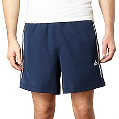 adidas - Navy stripe shorts