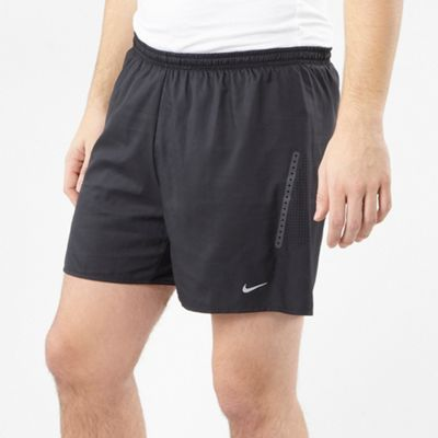 Nike Black perforated training shorts