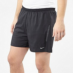 Nike - Black perforated training shorts