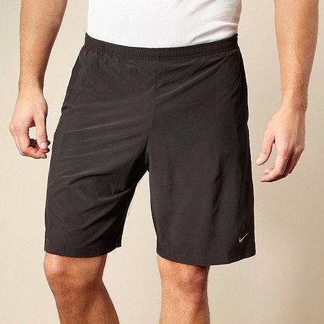 Nike - Black net panelled shorts