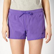 Nike Purple 'DRI-Fit' shorts