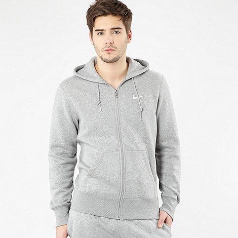 Nike - Grey fleece lined hoodie