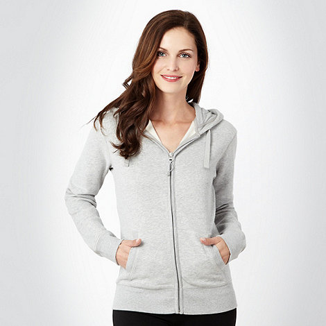XPG by Jenni Falconer - Grey zip through hoodie