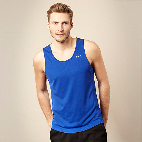 Nike - Dark blue fitness vest