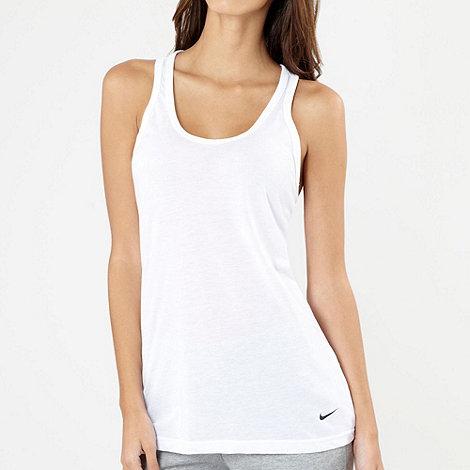 Nike - White loose fit tank top
