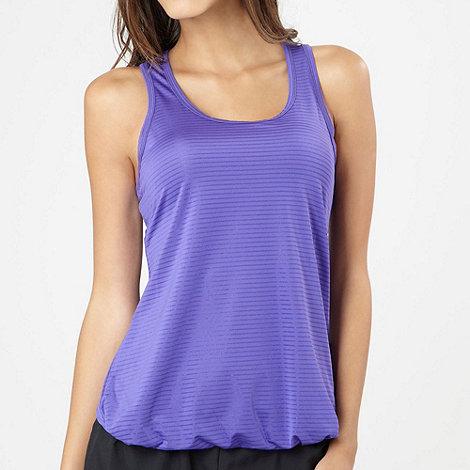 XPG by Jenni Falconer - Purple stripe performance vest