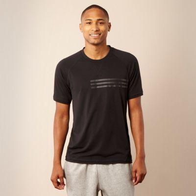 Adidas Black lightweight t-shirt