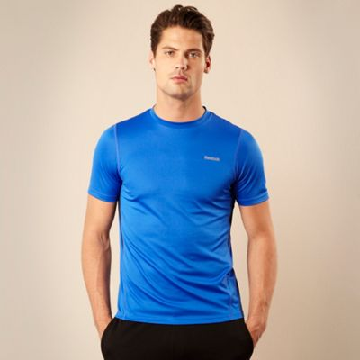 Bright blue Core crew neck t-shirt