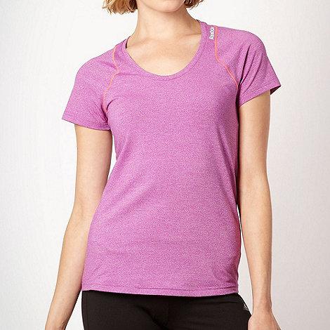 Reebok - Purple optimal +PlayDry+ t-shirt