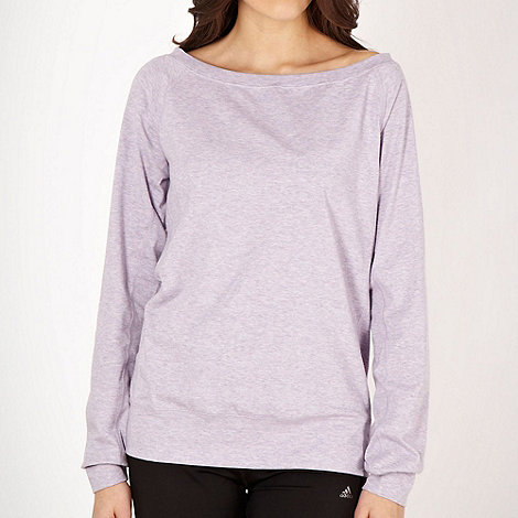 Nike - Lilac +Epic+ crew neck sweat top