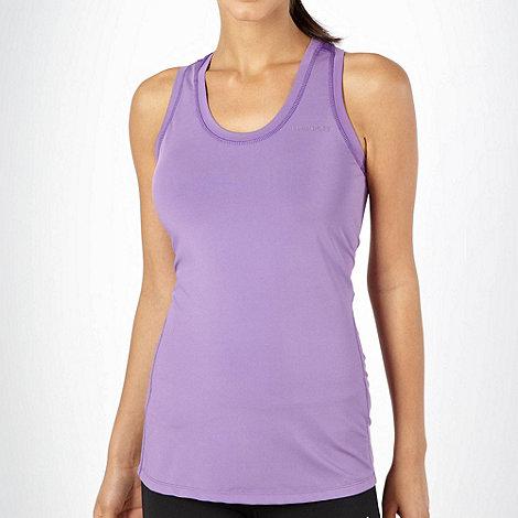 Elle Sport - Lilac racer back sports vest