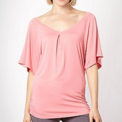 Elle Sport - Pink batwing sports top