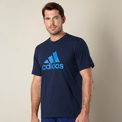 adidas - Navy +Essential+ logo t-shirt