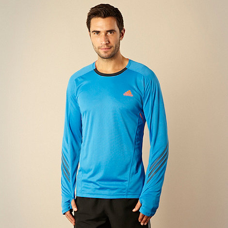 adidas - Blue +Supernova+ long sleeve top