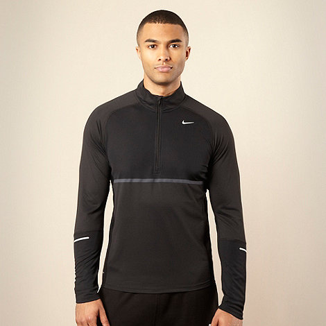 Nike - Black long sleeved training top