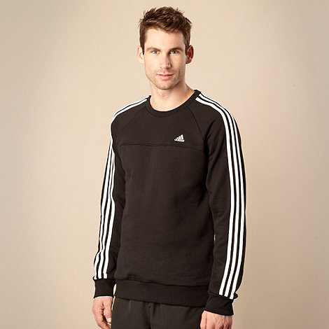 adidas - Black +Essential+ sweatshirt