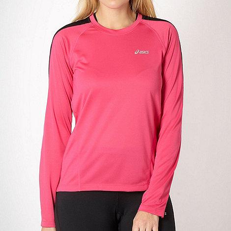ASICS - Pink +Vesta+ long sleeved active top