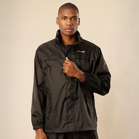 Trespass - Black lightweight rain jacket