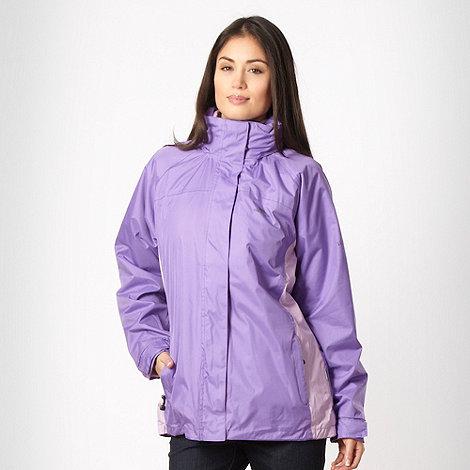 Trespass - Purple light weight rain jacket