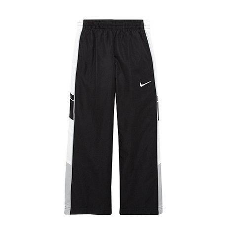Nike - Boy+s black fitness pants