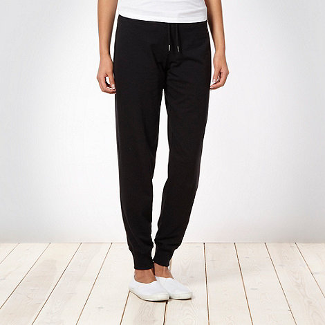 XPG by Jenni Falconer - Black essential jogging bottoms