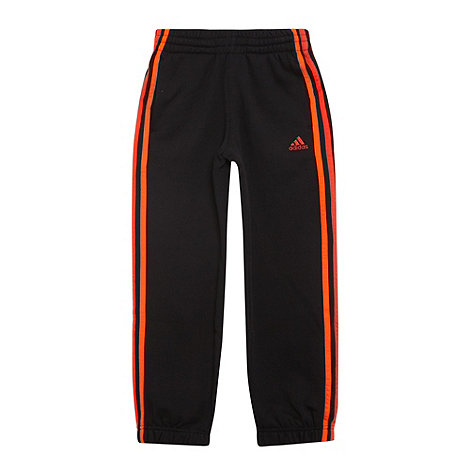 adidas - Boy+s black +Essential+ jogging bottoms