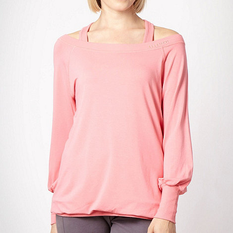 Elle Sport - Pink double layered sports top