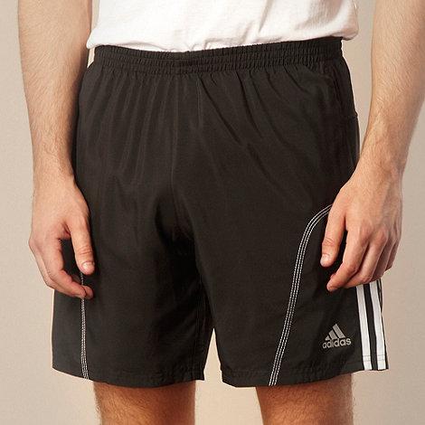 adidas - Black +Response+ shorts