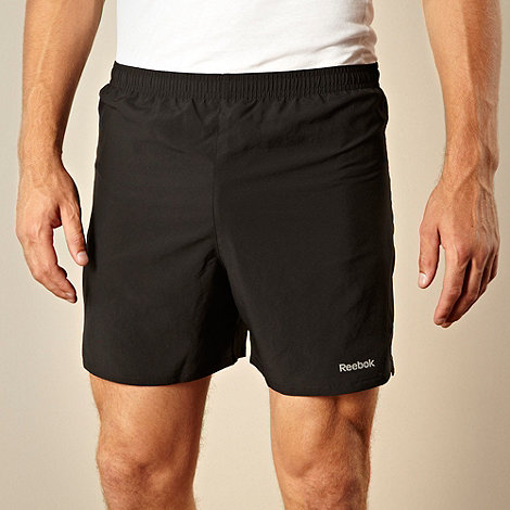 Reebok - Black +Core+ drawstring shorts