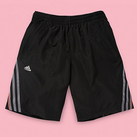 adidas - Boy+s black +F-50+ swim shorts