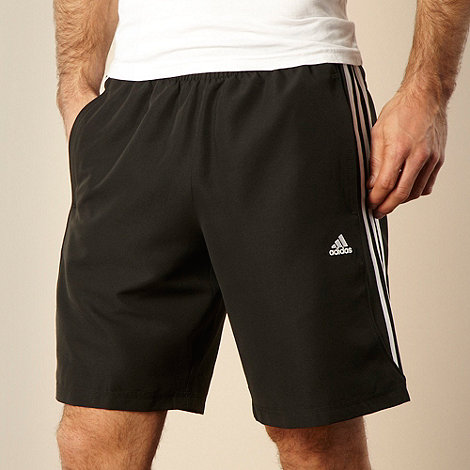 adidas - Black running shorts