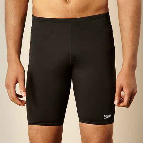 Speedo - Black essential swim shorts