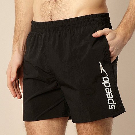 Speedo - Black side logo water shorts